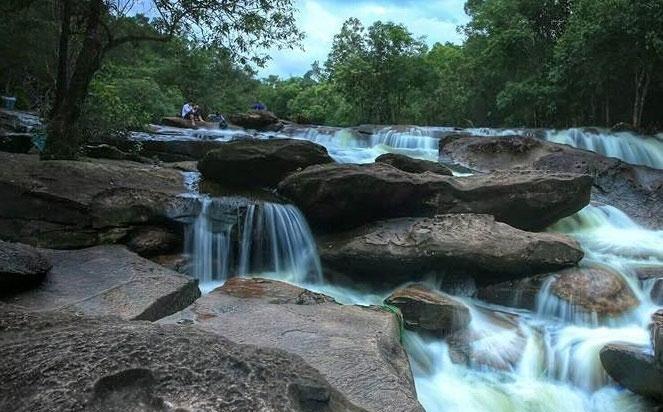 suối đá bàn ở phú quốc