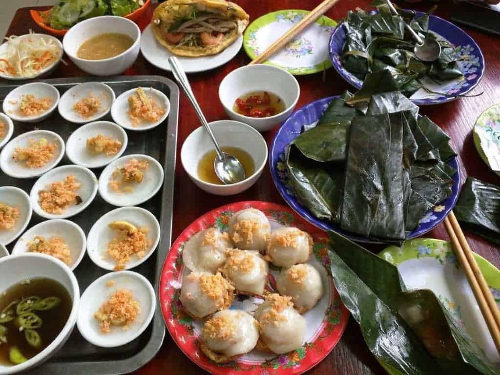 đồ ăn tại Huế