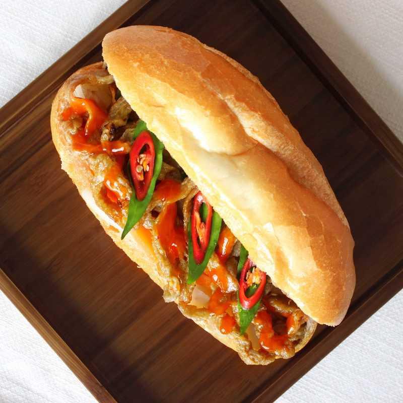 bánh mì chả cá nha trang ở nha trang