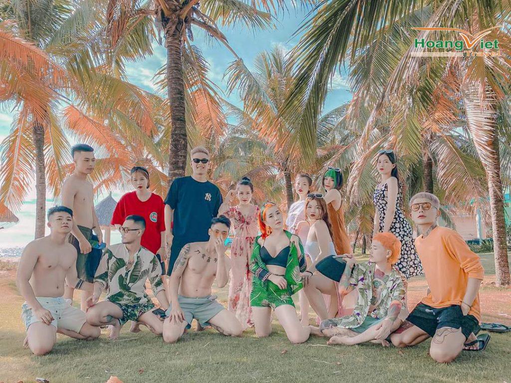 đoàn khách của Hoàng Việt Travel 1