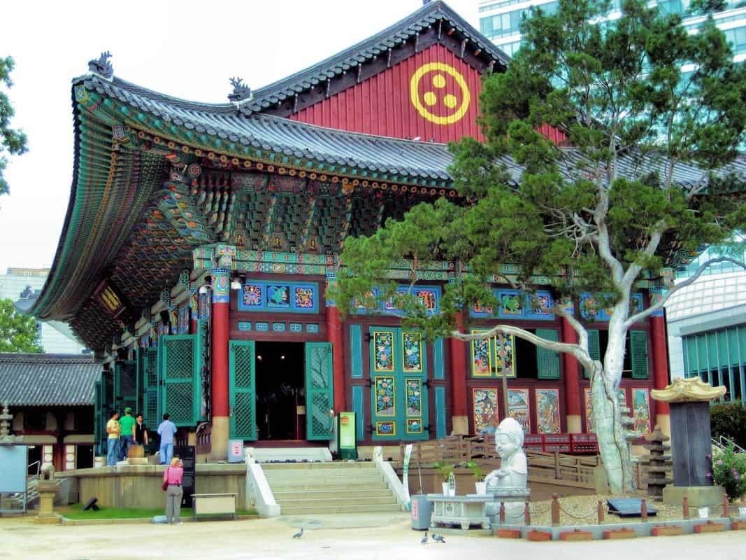 những nơi đẹp ở seoul