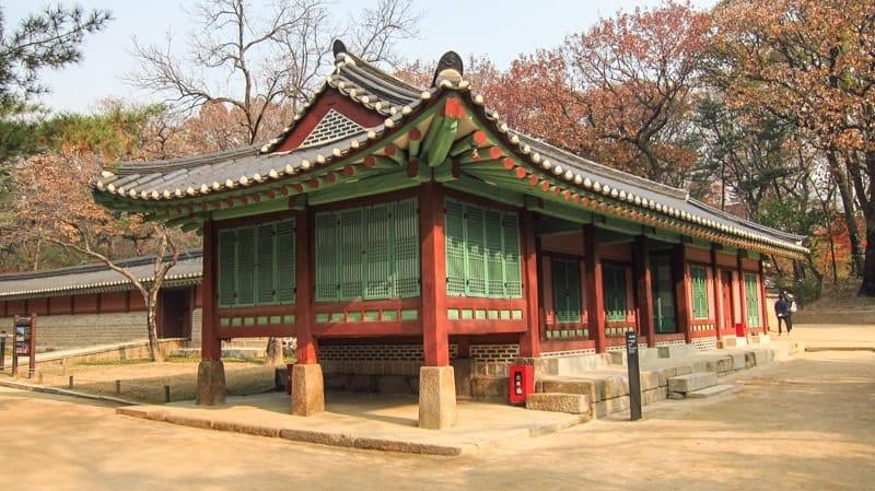 Lăng Jongmyo Seoul Hàn Quốc