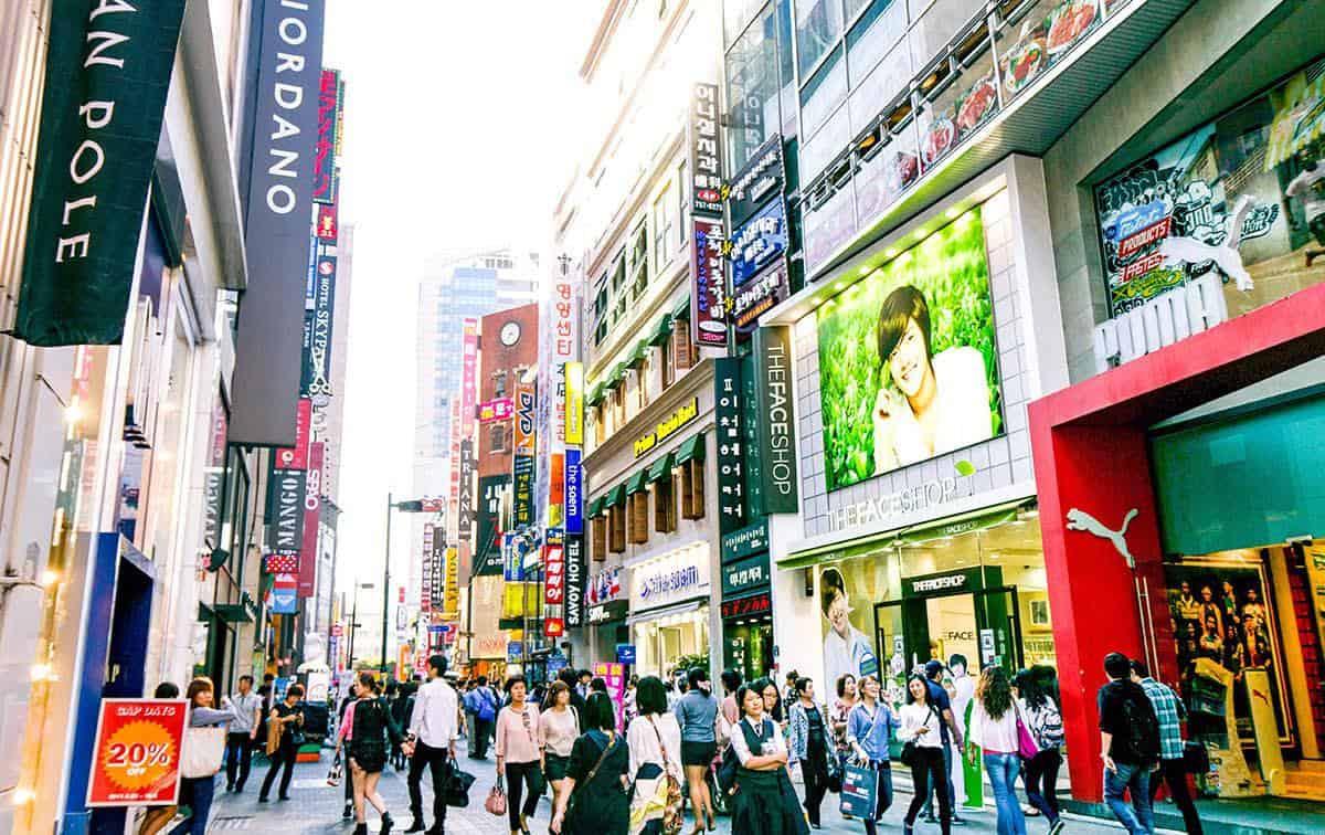 địa điểm tham quan ở seoul