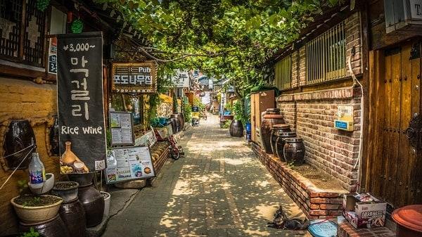 các địa điểm ở seoul