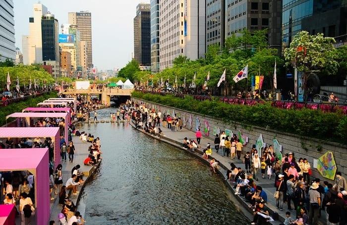 Suối Cheonggye Cheon