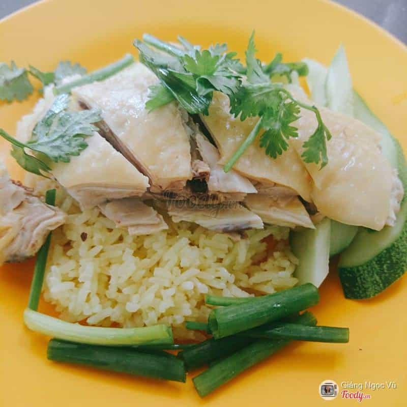 Cơm gà ở Nguyễn Thái Bình