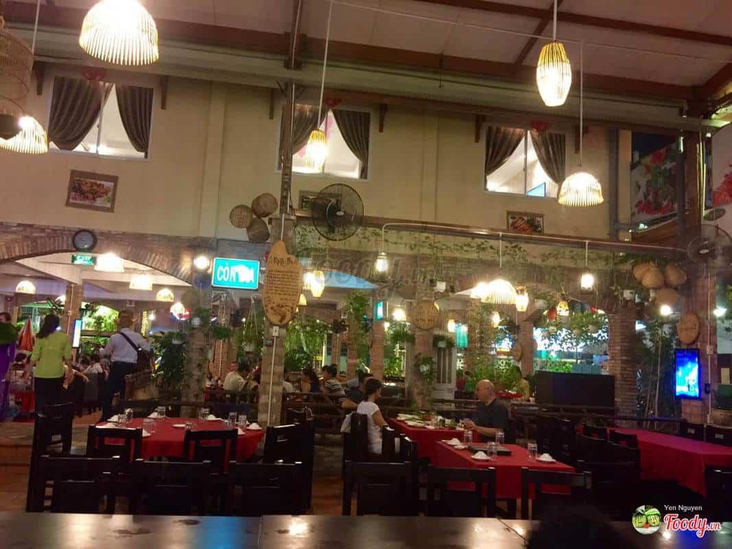Địa chỉ quán ăn ở đường Nguyễn Thái Bình Quận 1