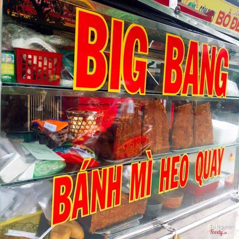 Bánh mì heo quay Big Bang