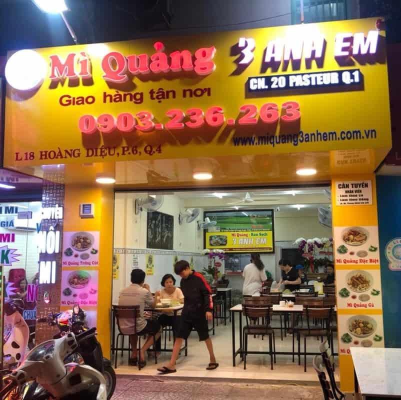 Mỳ Quảng 3 Anh Em