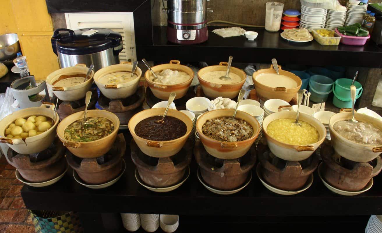 Các món ăn tại Nhà hàng Ngon