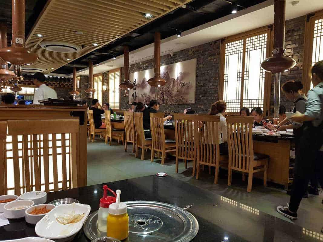 quán buffet nướng quận 1
