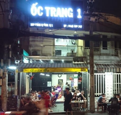 Ốc Trang đường Cống Huỳnh
