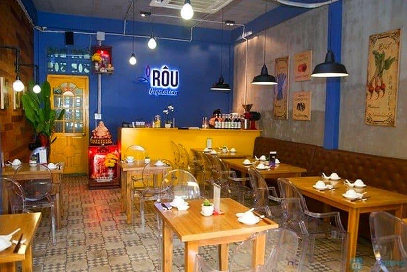 quán ăn chay Rou