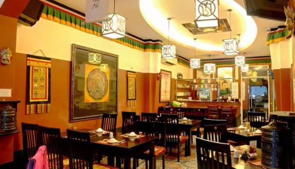 Nhà hàng chay Mandala phong cách Tây Tạng