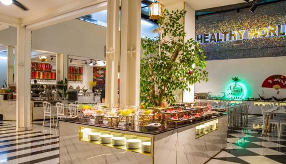 Nhà hàng buffe chay Healthy World