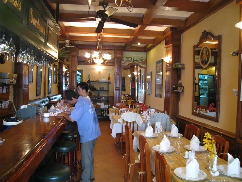 nhà hàng món pháp quận 1