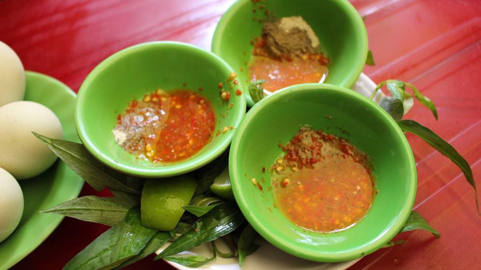 Nước chấm ăn kèm đặc biệt của Kim Thảo