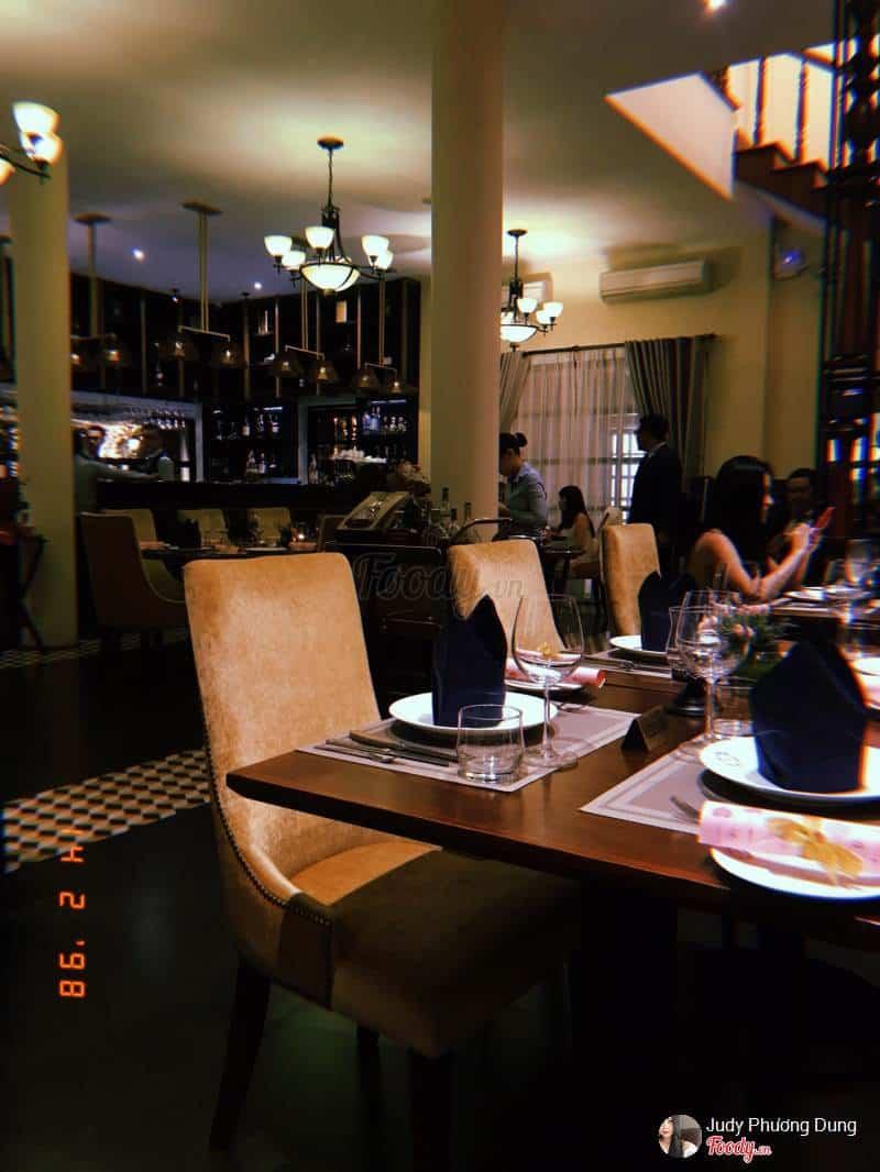 nhà hàng pháp thảo điền quận 2
