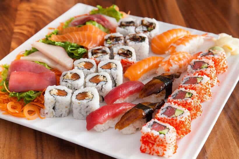 Món ngon tại Nhà hàng Nhật Ngon Sushi