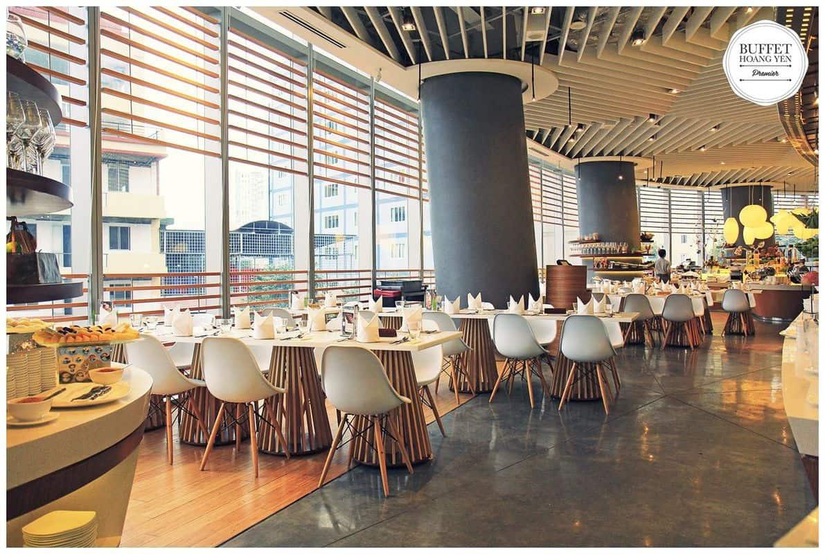 Không gian nhà hàng Hoàng Yến Buffet