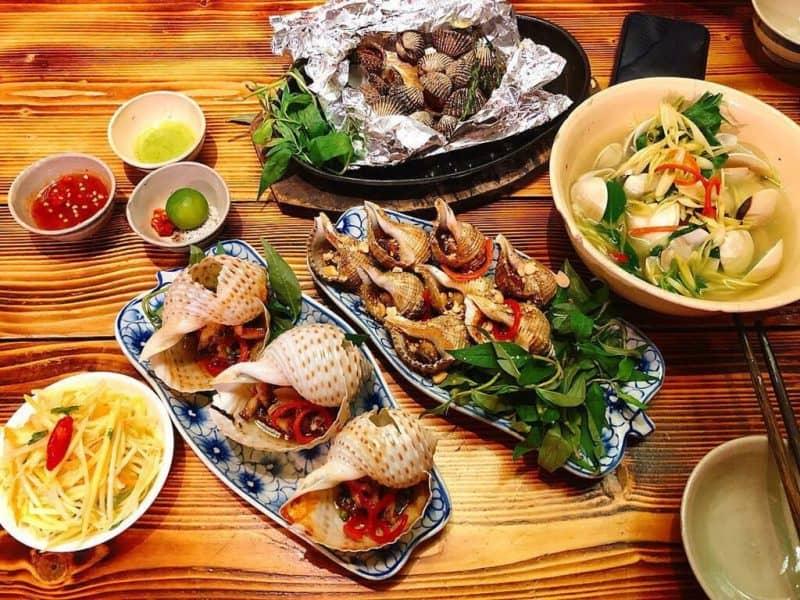 Nhà hàng hải sản 103 Biển Xanh Sài Gòn quận 1
