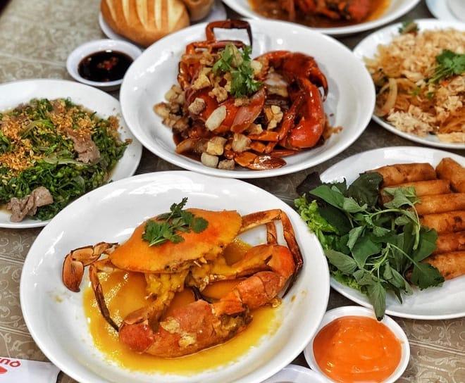 Quán hải sản Song Ngư