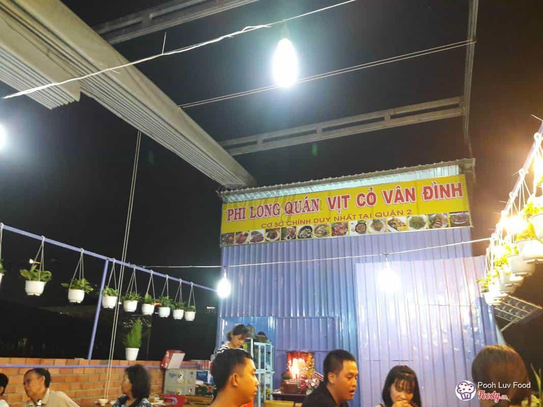 quán ăn bình dân quận 2