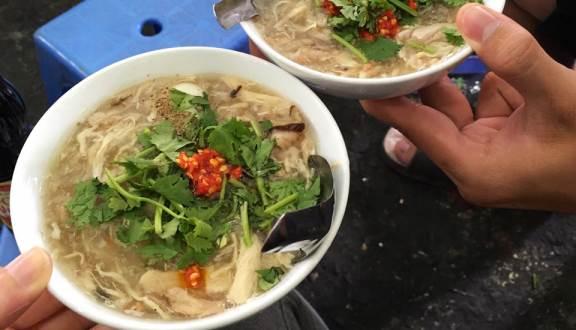 Súp cua Hạnh ở Chợ Tân Định