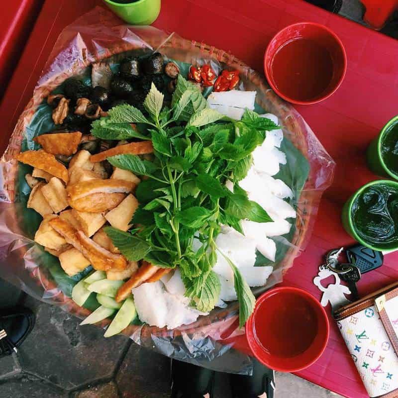 Bún Đậu Mắm Tôm Ngon Ở Hà Nội