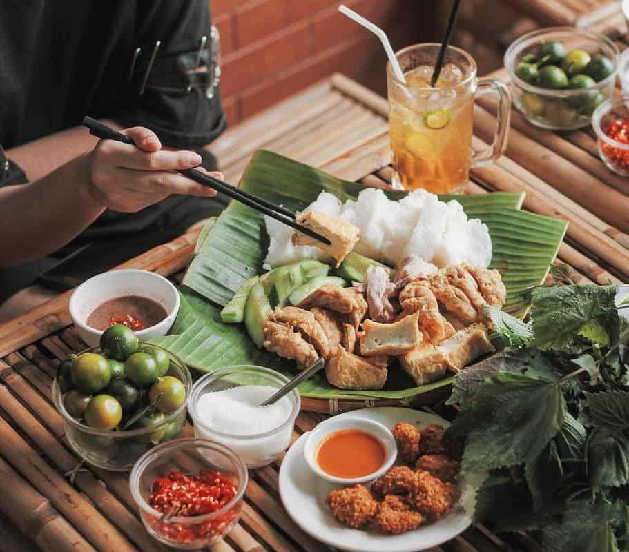 Bún đậu Phan Phù Tiên tại Hà Nội ngon